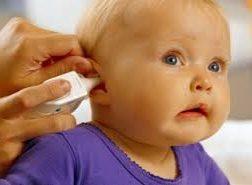 چک کردن شنوایی کودک