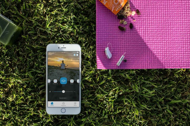 اتصال مستقیم سمعک به موبایل امکان پذیر است.