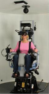 آزمون صندلی گردان در سرگیجه