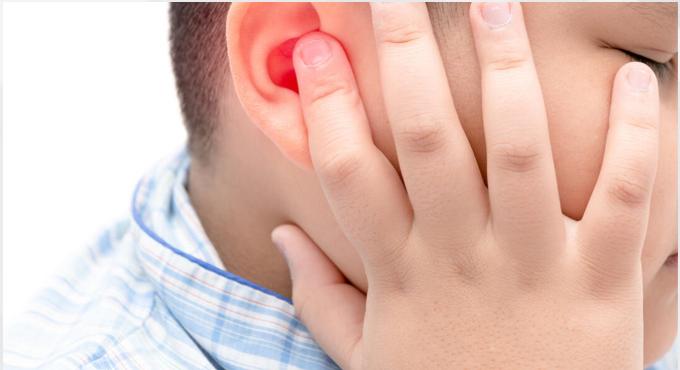 گوش درد نوزاد